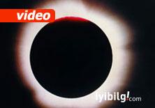 Güneş tutulmasını canlı izle... -Video