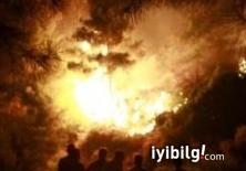 BASF fabrikasında patlama meydana geldi