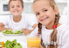 Çocuklarda başarıyı getiren besinler