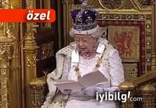 Kraliçeye gül atanlar!